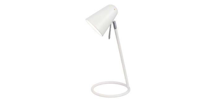 Markham compact table lamp, £16