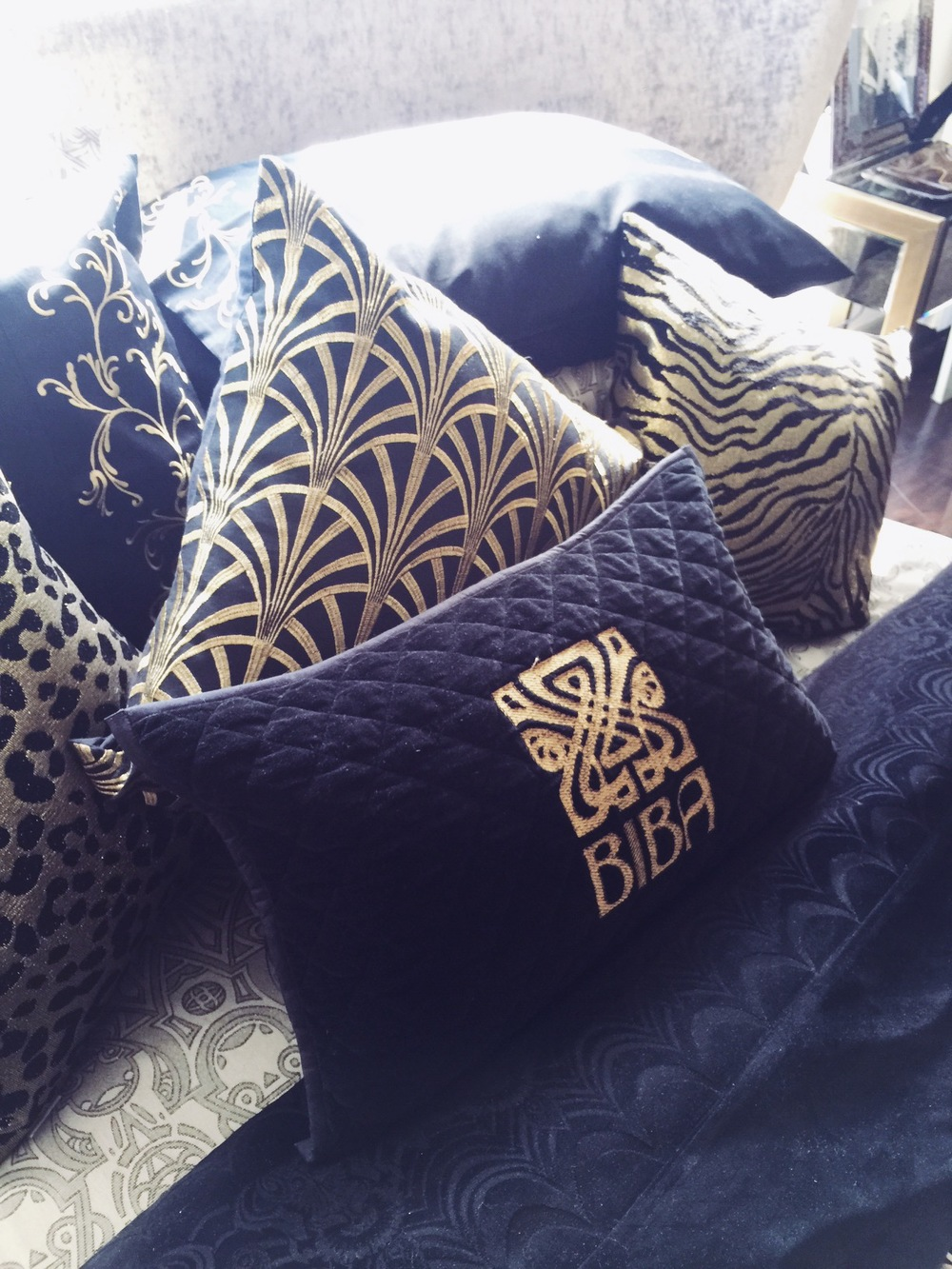 art deco cushions