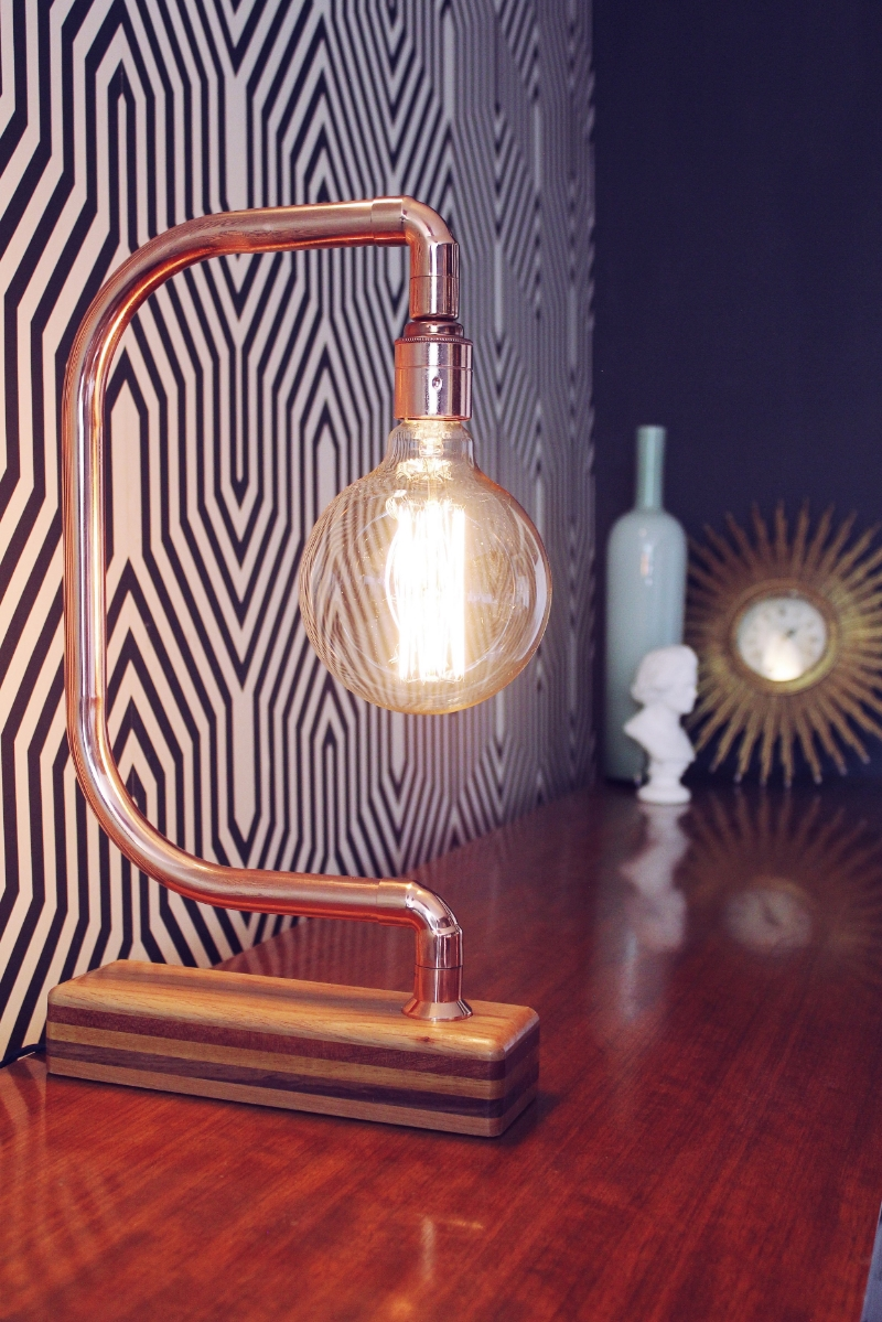 copper filament lamp
