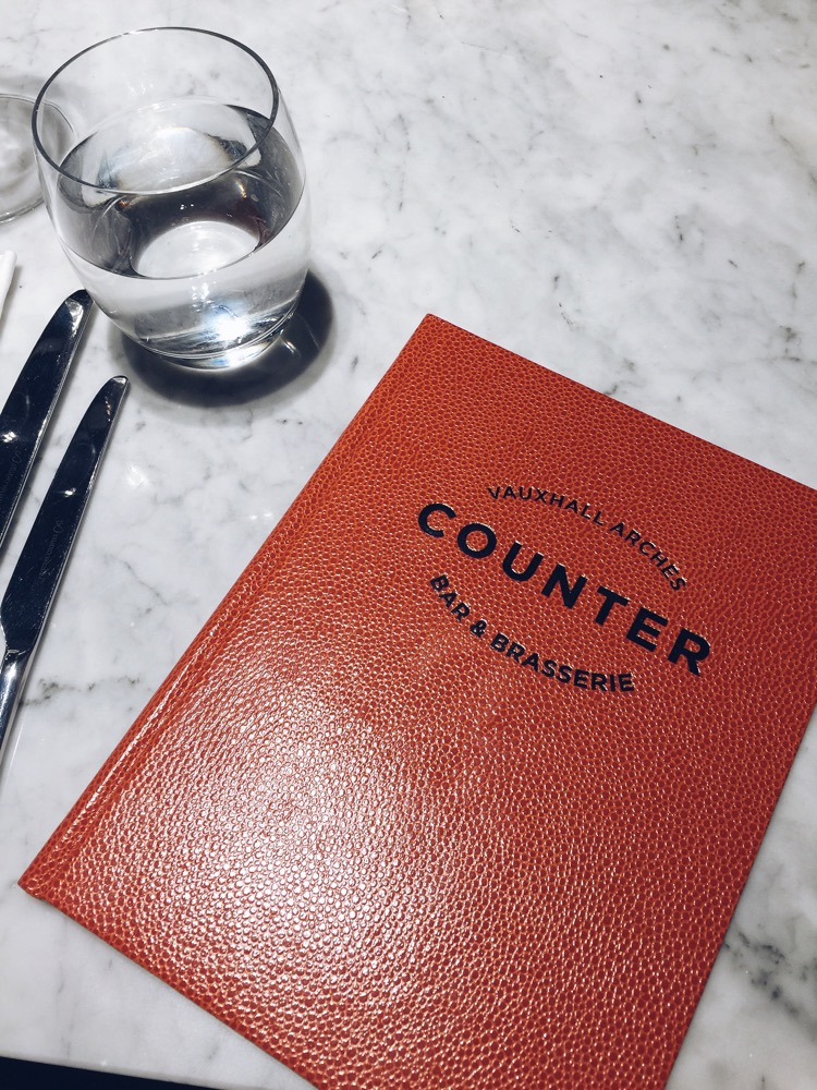 review of counter vauxhall