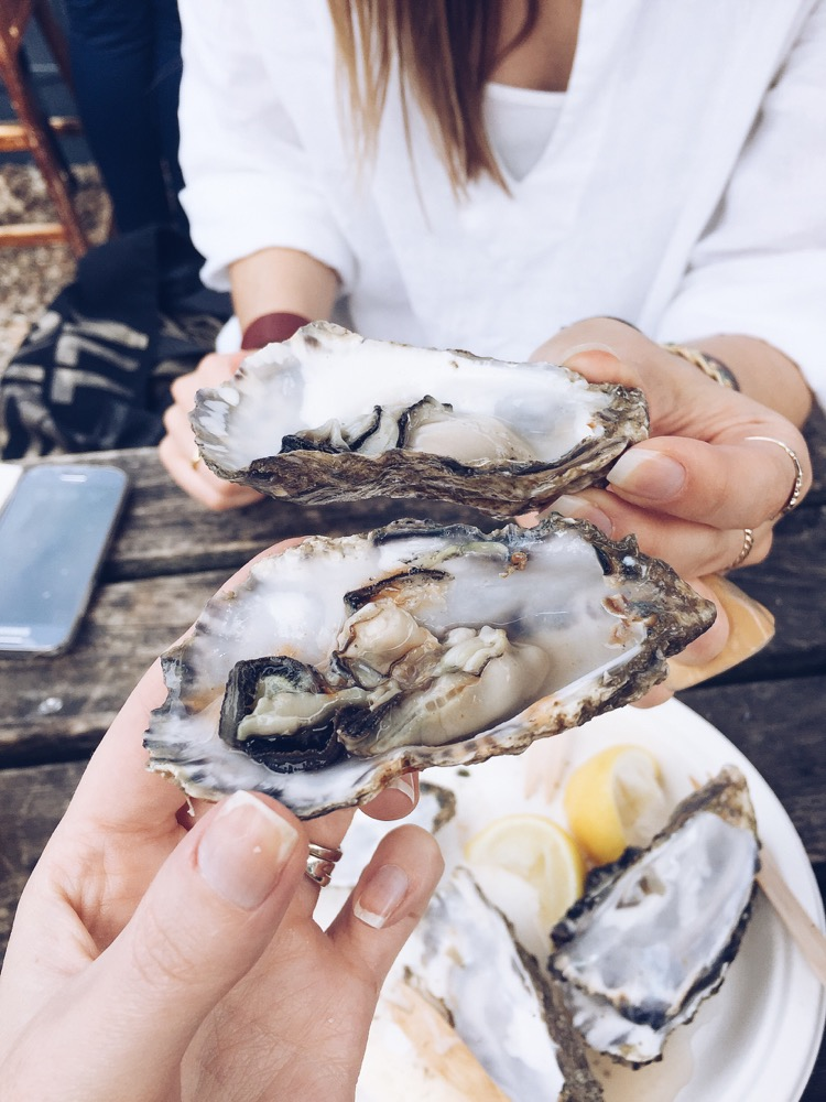 oysters at the forge whitstable