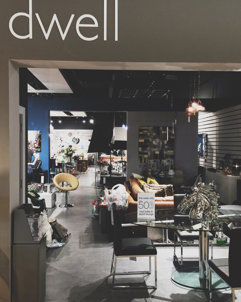 589705f8cfc28 Recently I was asked by Dwell to go into their brand new store in New  Malden and style some areas for display whilst ...