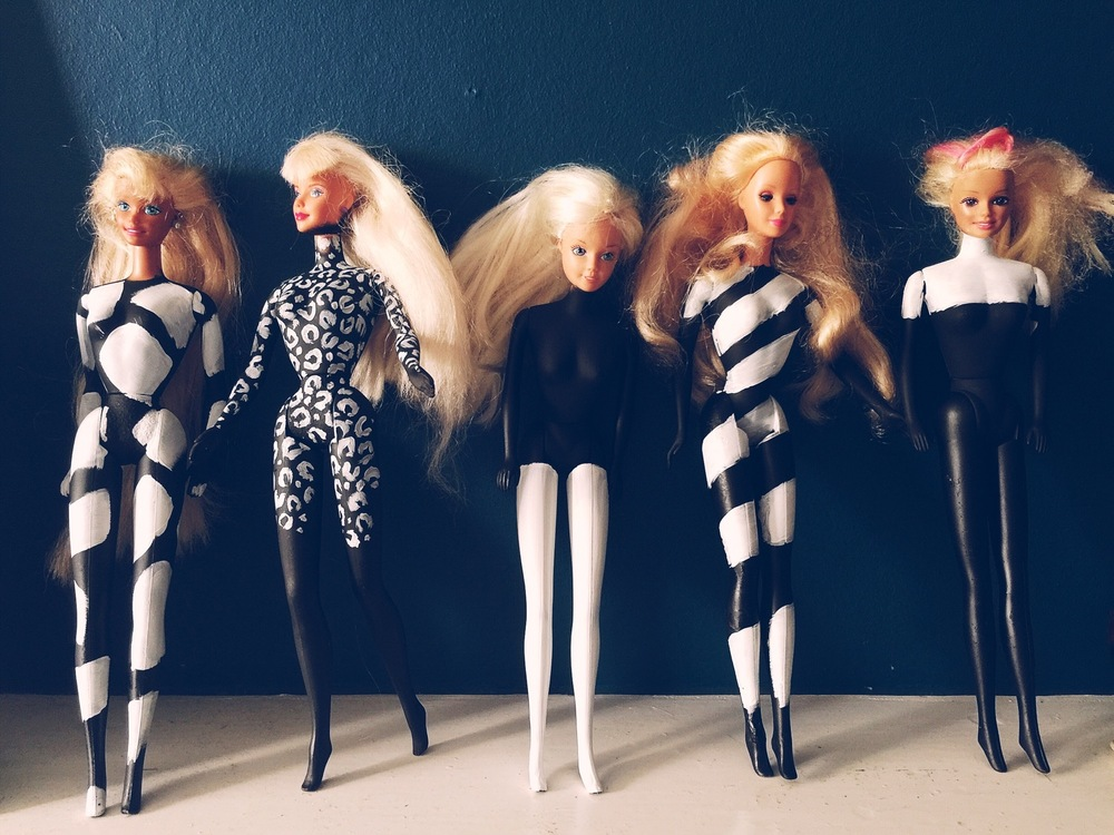 art barbies handpainted