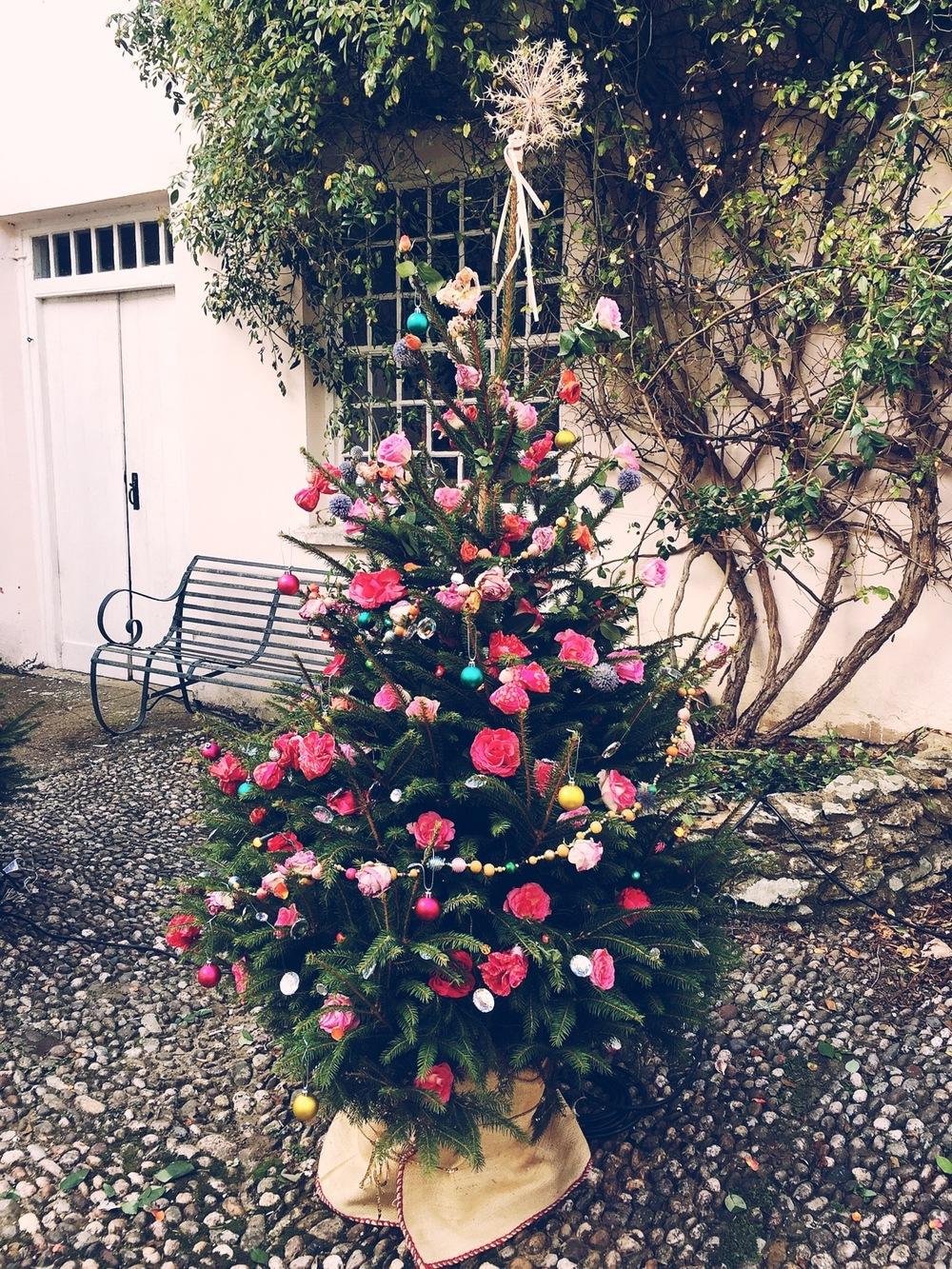 kirstie's handmade xmas tree
