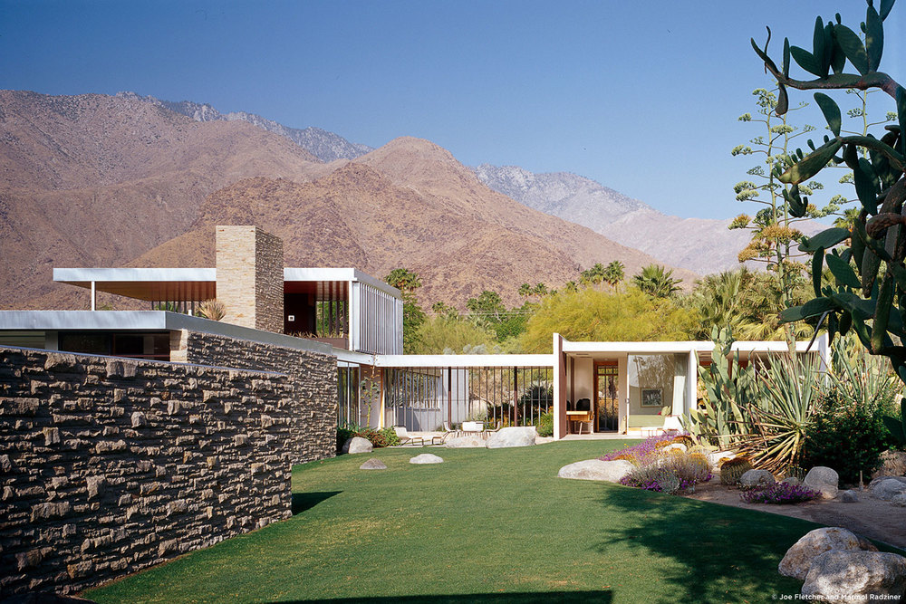 The iconic Kaufmann house, designed by Richard Neutra in 1946