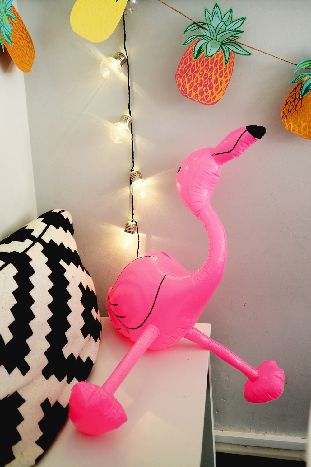 blow up flamingo