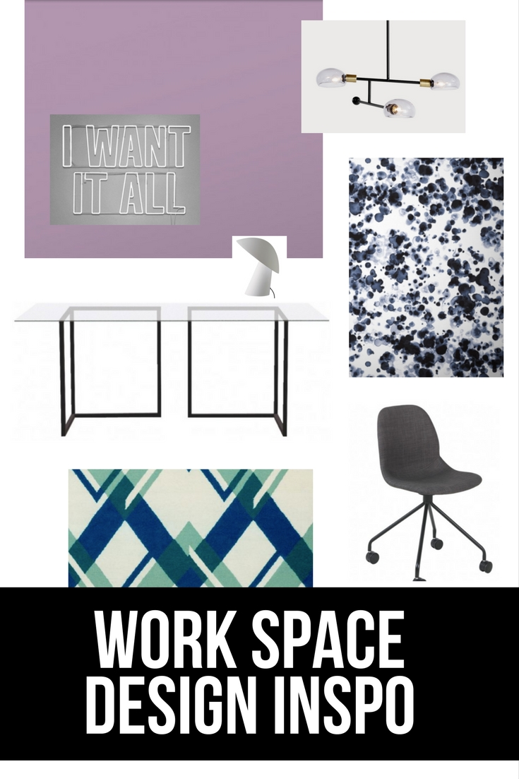 In my latest blog post I am showing some decor ideas for a lavender inspired office or work space.
