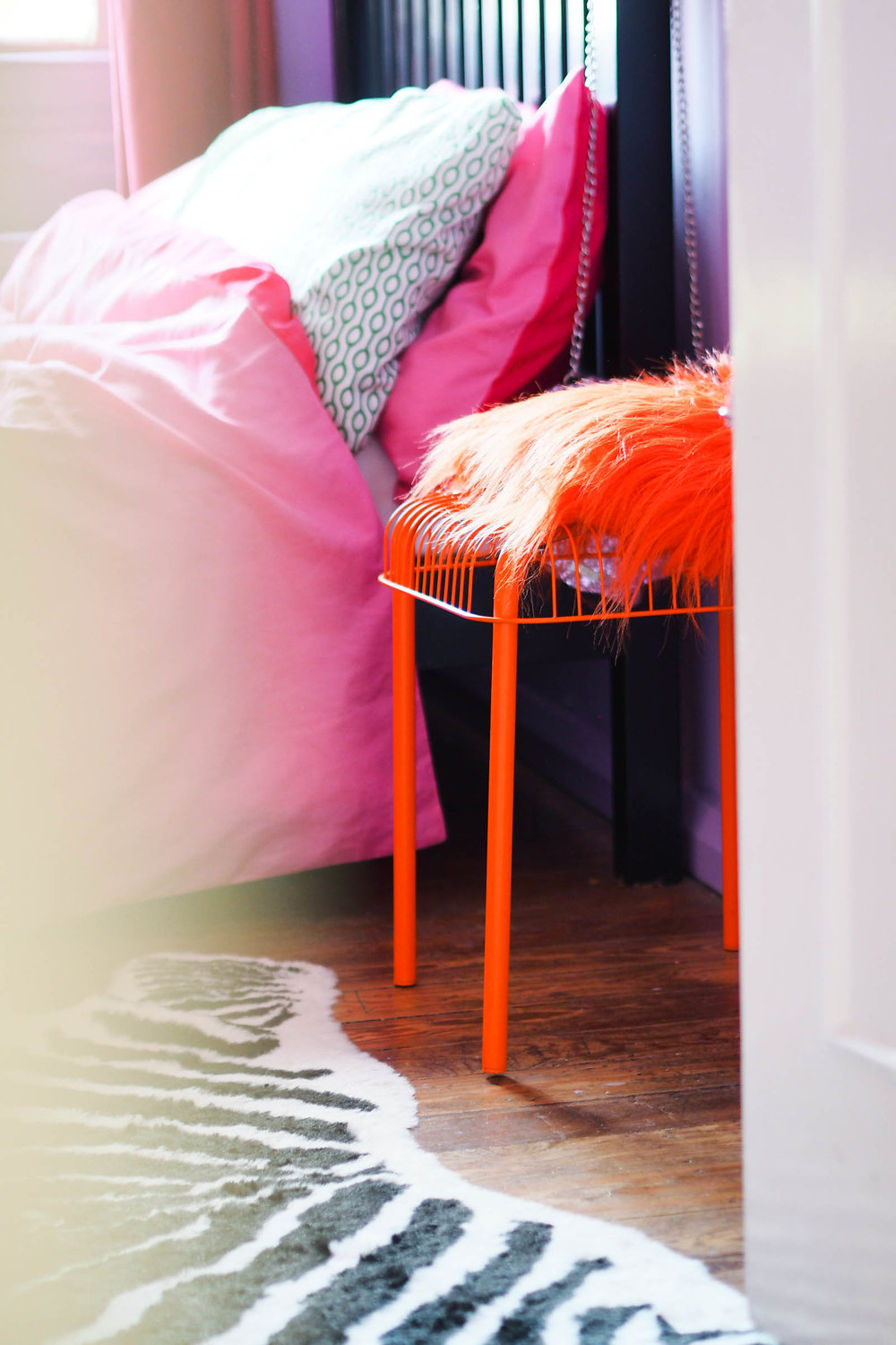 Amy's colourful and eclectic location house in Margate