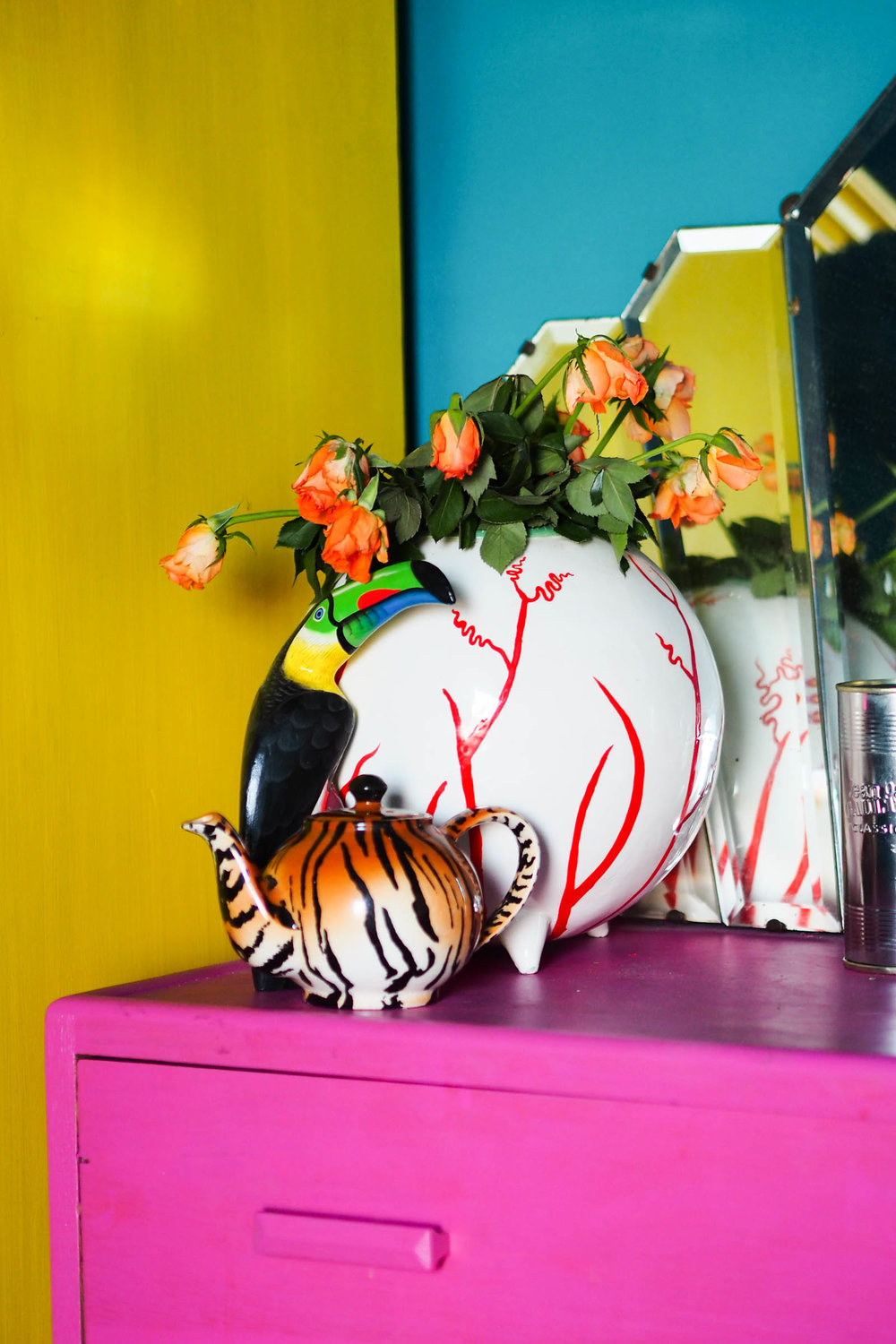 Amy's bright and eclectic home in Margate