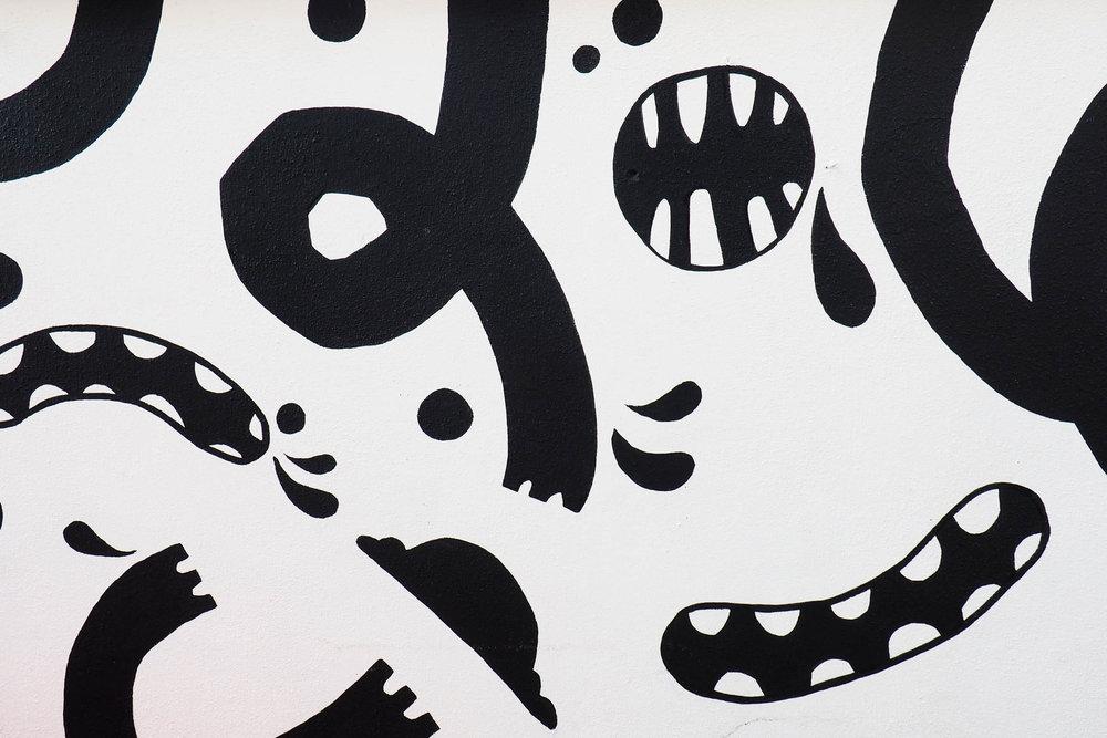 sprankenstein mural