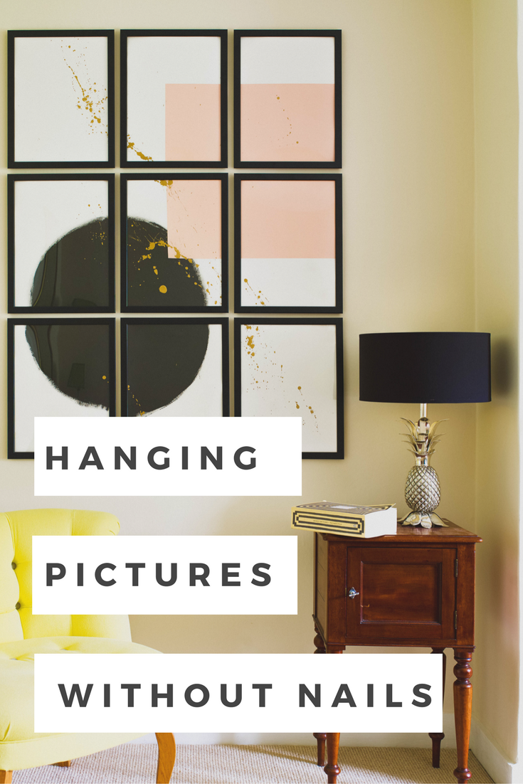 How To Hang Pictures Without Nails Sarah Akwisombe