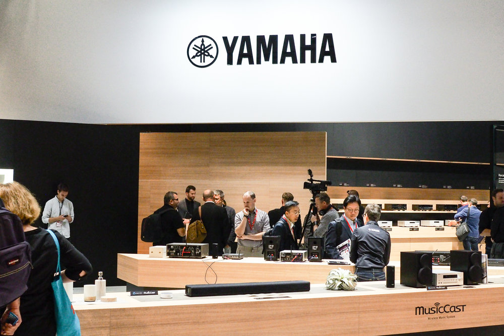 Recently I visited the Yamaha Home Audio stand at the IFA in Berlin to check out their home audio and smart home musiccast technology.