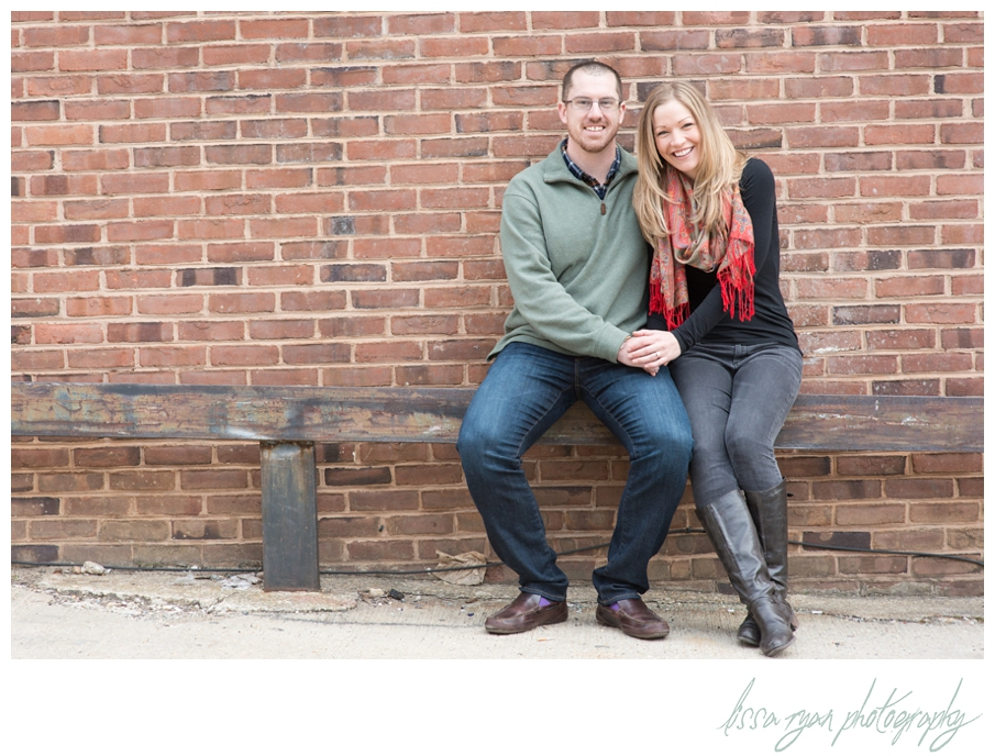 engagement photos in georgetown from Lissa Ryan Photography