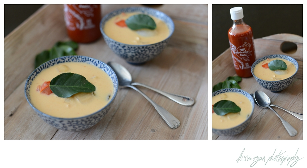 coconut soup recipe thai food tom kaa kai