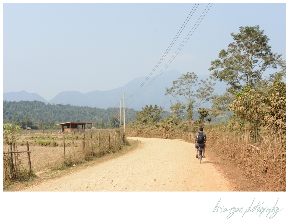 Vang vieng Laos bike bicycle