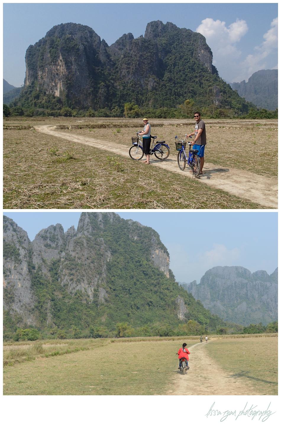 Vang vieng Laos bikes