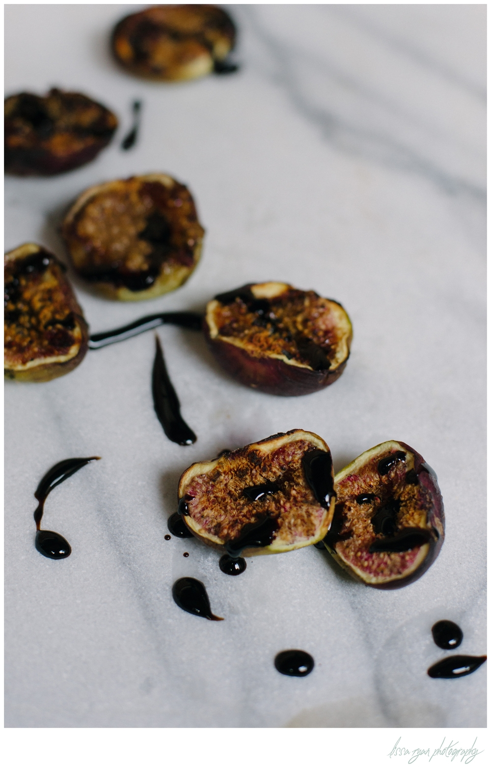 grilled figs with balsamic Lissa Ryan Photography washington dc food photographer