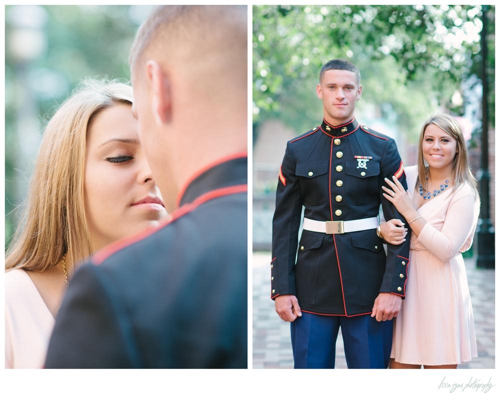 military engagement session marines georgetown washington dc wedding photographer lissa ryan photography