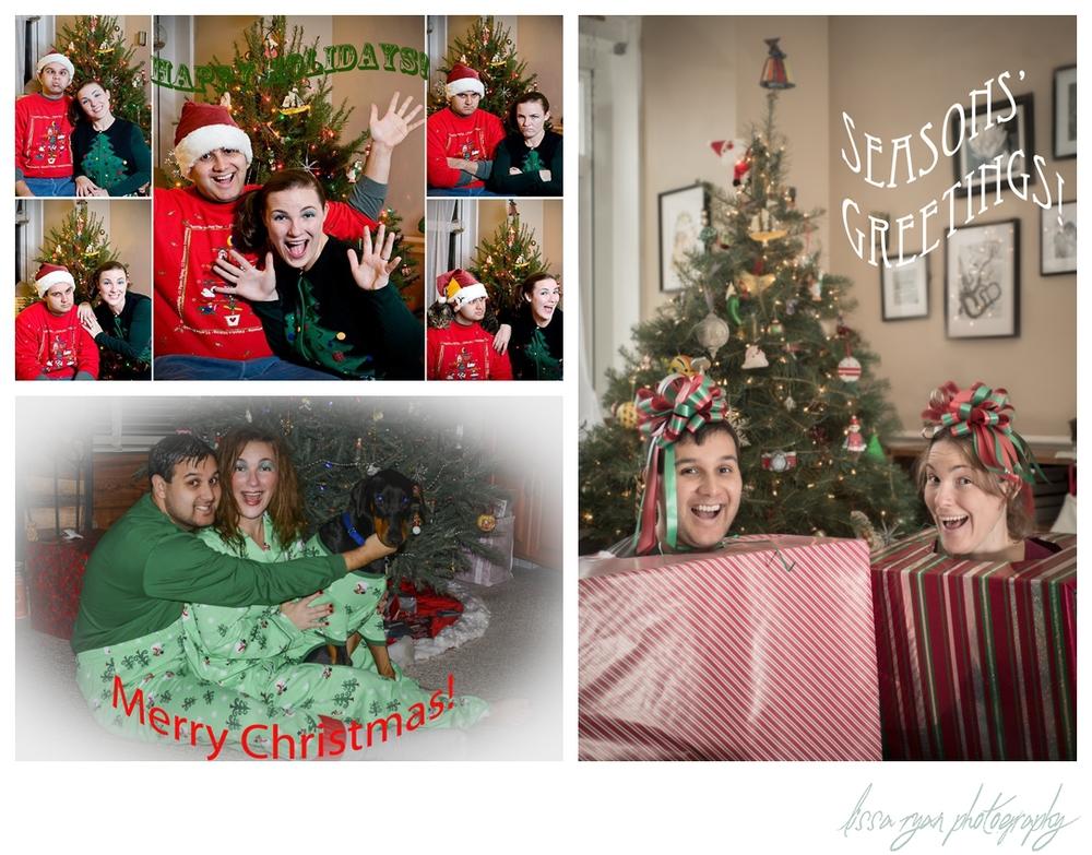 awkward family holiday christmas photo lissa ryan photography washington dc photographer
