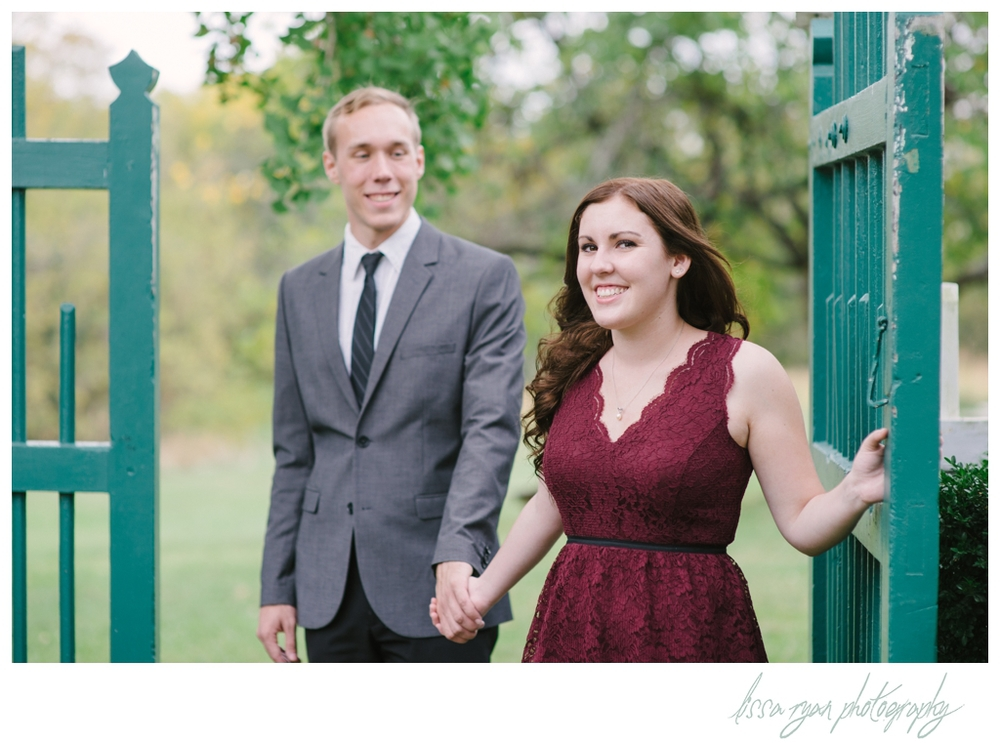 garden engagement session washington dc wedding photographer lissa ryan photography