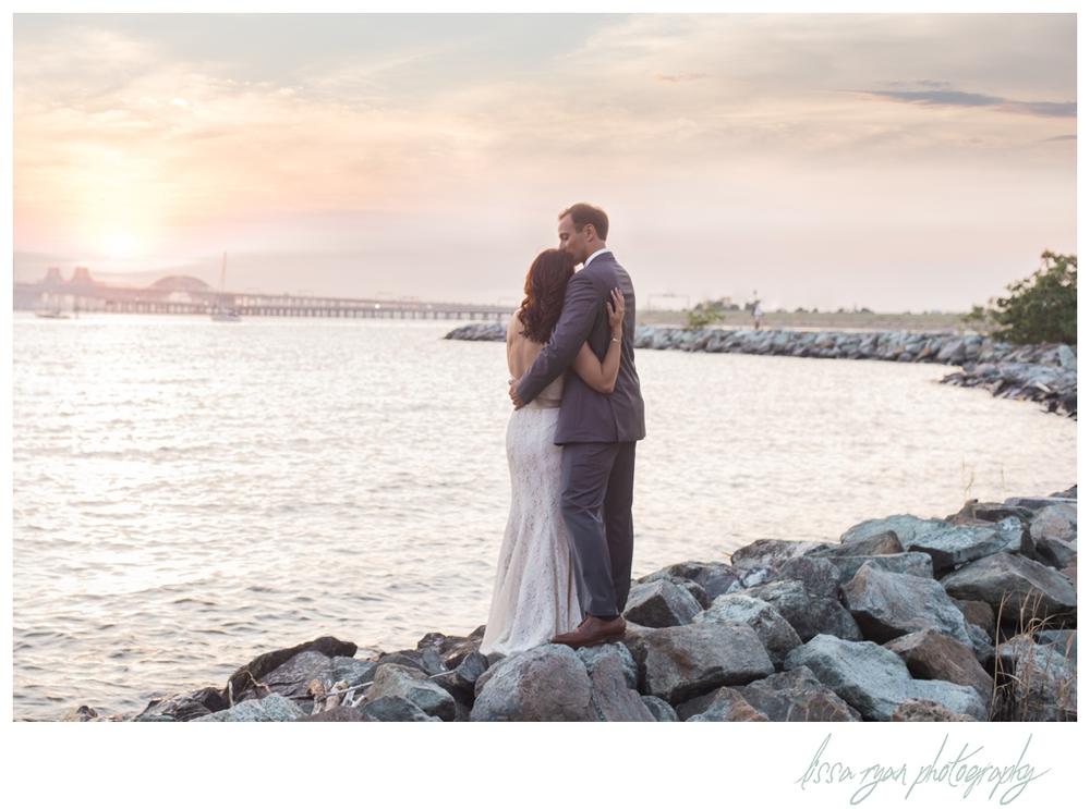 chesapeake bay beach club wedding eastern shore wedding photographer lissa ryan photography