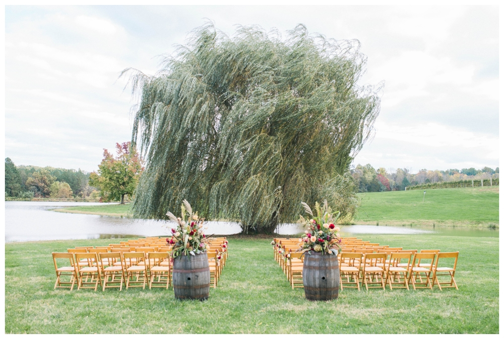 trump winery wedding charlottesville virginia fall wedding photographer lissa ryan photography