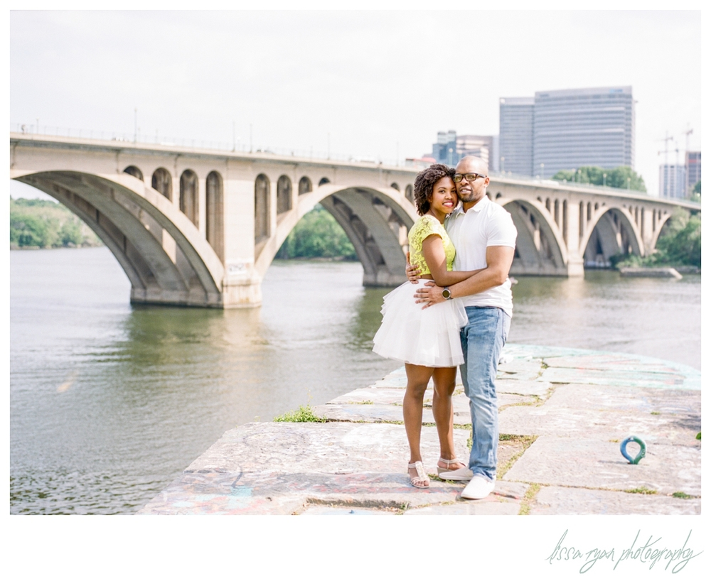 washington dc engagement session in georgetown graffiti washington dc engagement wedding photographer lissa ryan photography