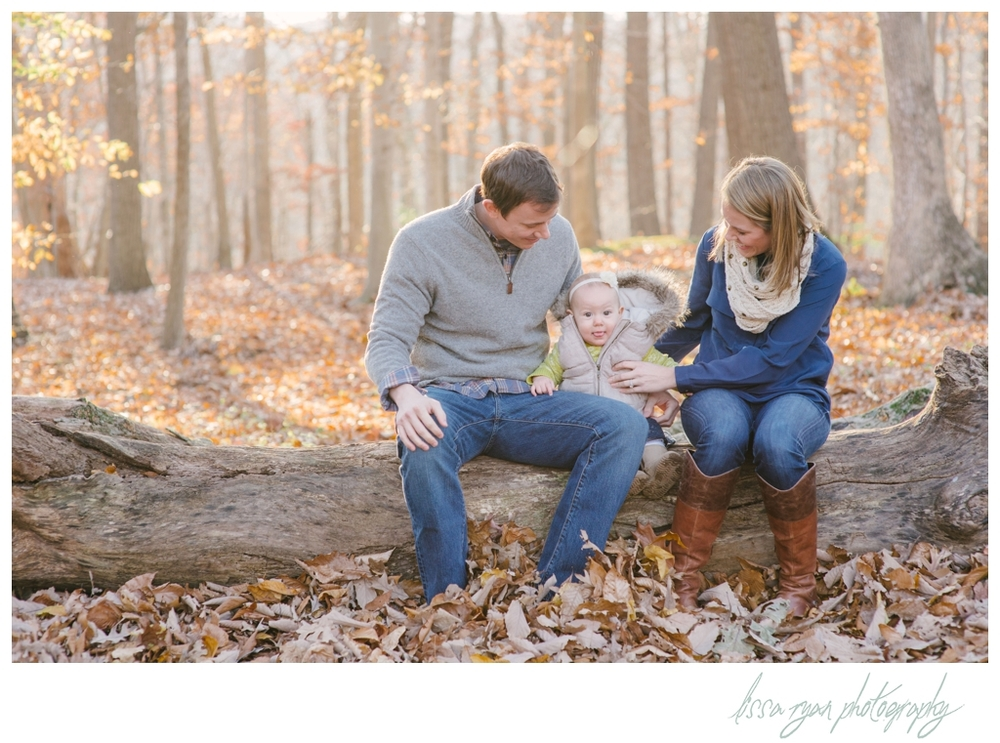 fall family session in washington dc family photographer