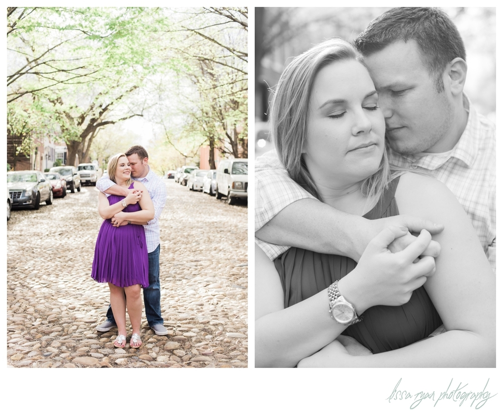 old town alexandria virginia engagement session washington dc wedding photographer lissa ryan photography