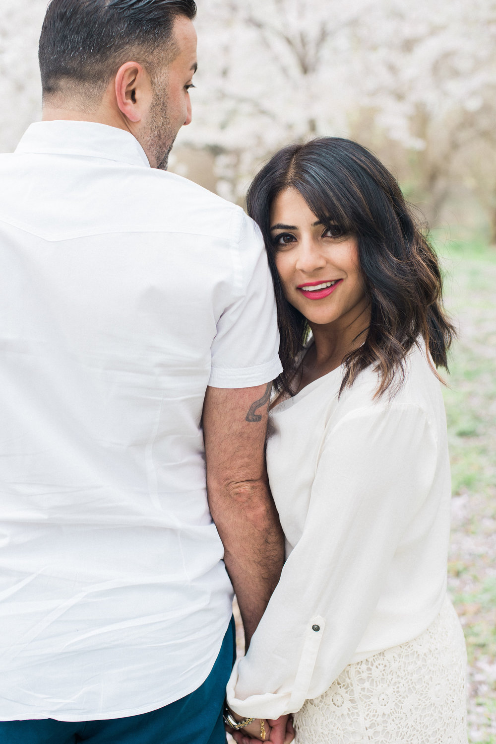 washington dc cherry blossom engagement session fine art wedding photographer lissa ryan photography