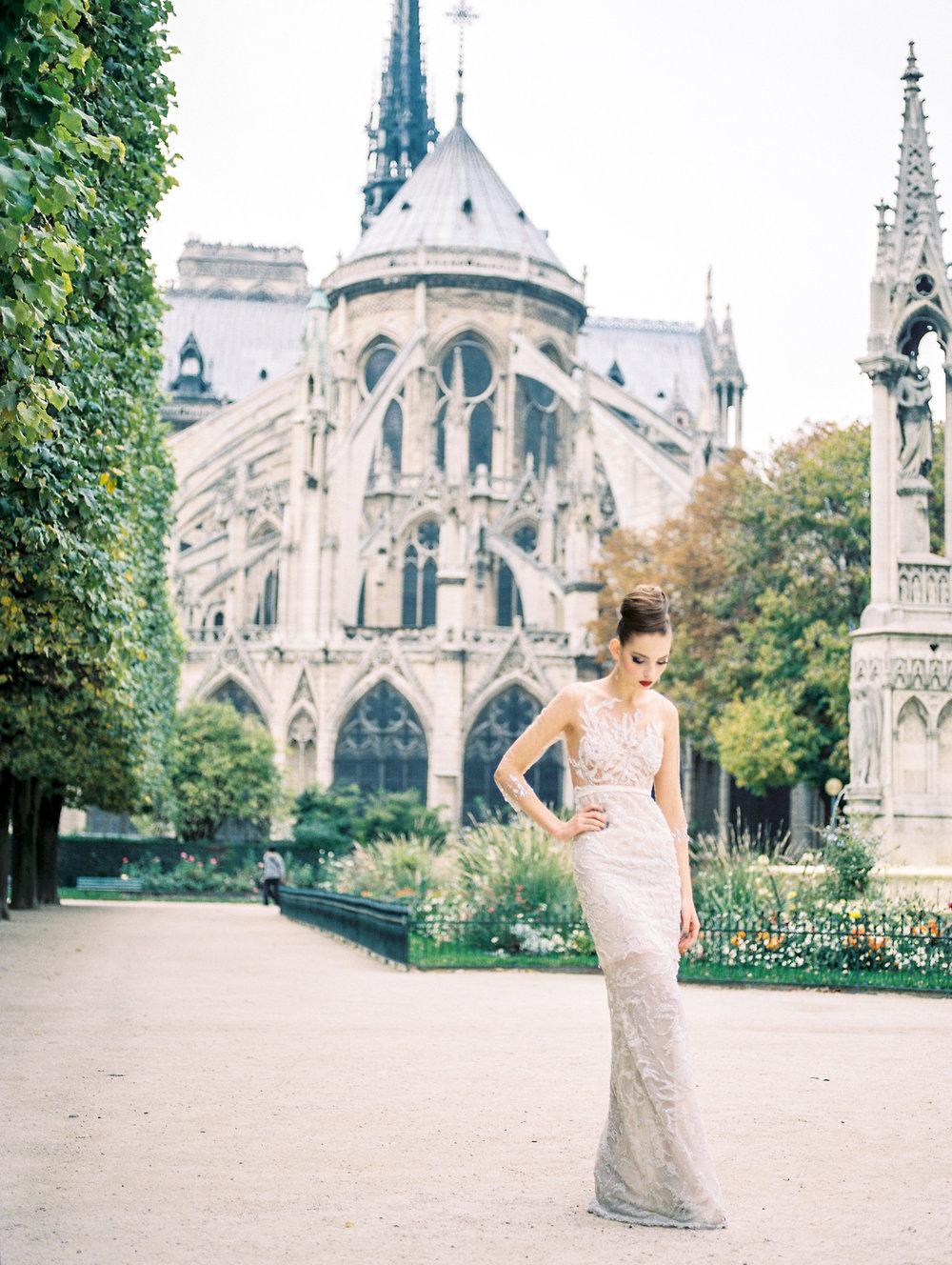 elopement inspiration in paris destination fine art wedding photographer lissa ryan photography