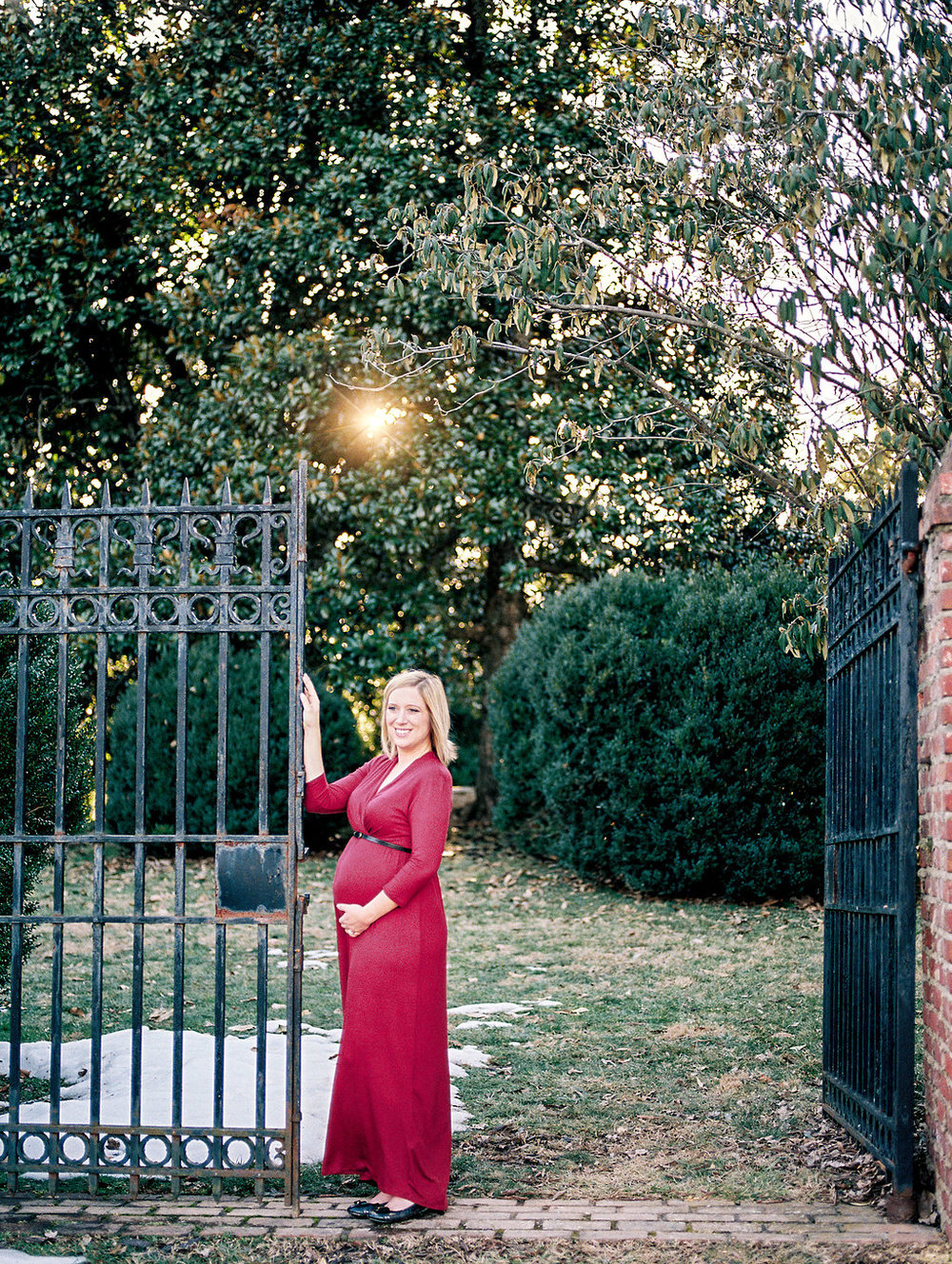 washington dc virginia maternity photos fine art film lissa ryan photography