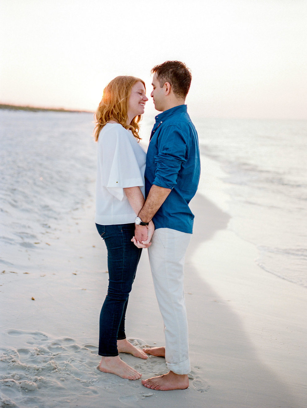 pensacola beach florida engagement photos destination wedding photographer lissa ryan photography