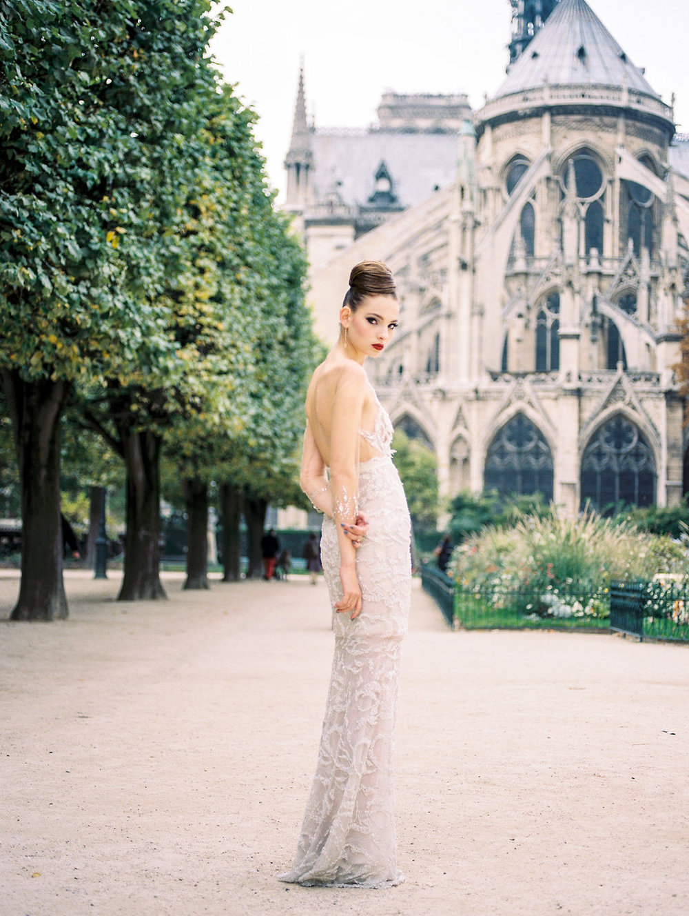paris elopement inspiration editorial destination fine art film wedding photographer lissa ryan photography
