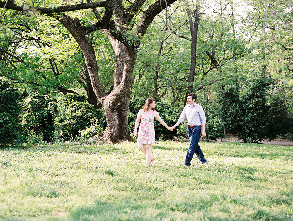 spring georgetown engagement session washington dc fine art wedding photographer lissa ryan photography