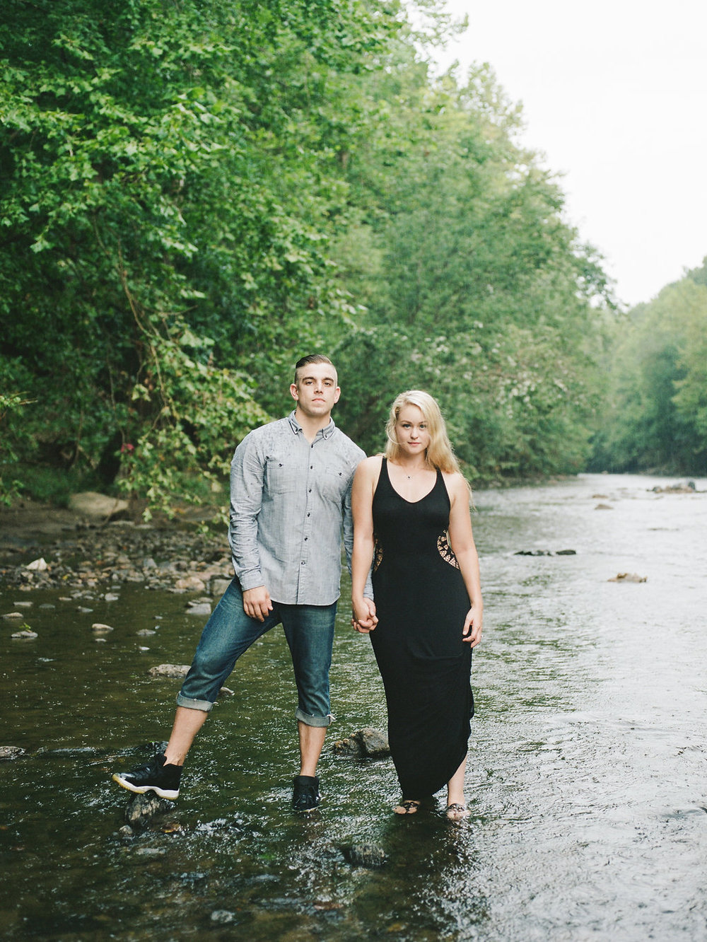 patapsco state park maryland engagement photos fine art wedding photographer lissa ryan photography