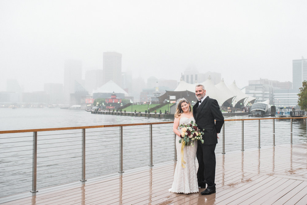 baltimore wedding chingiale restaurant rainy day wedding fine art wedding photographer lissa ryan photography