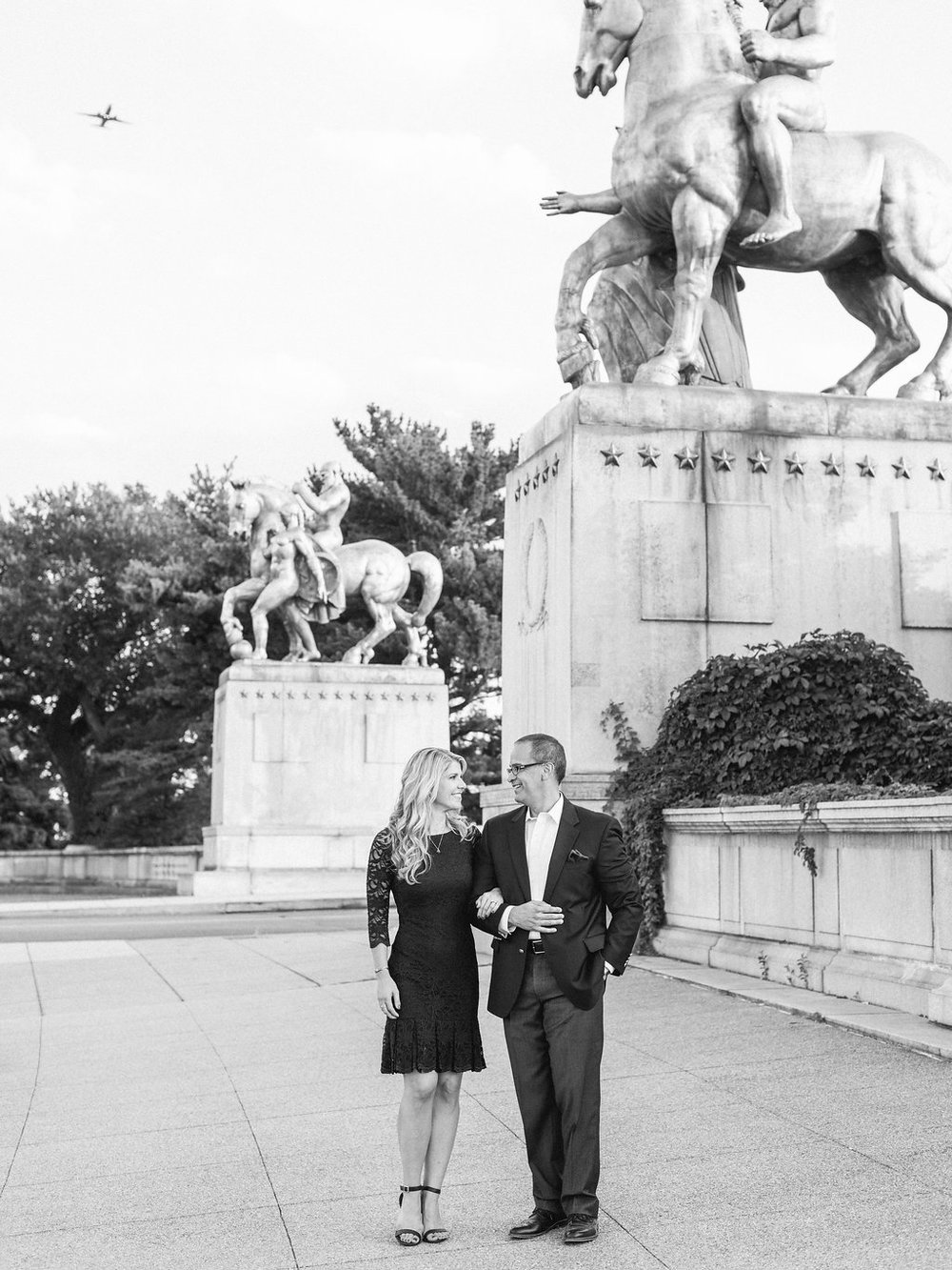 washington dc monuments national mall engagement session by fine art wedding photographer lissa ryan photography
