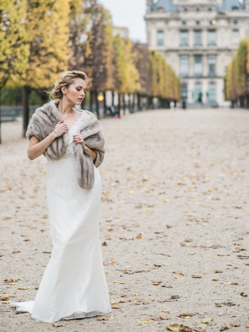 fine art bridal inspiration on film in paris destination wedding photographer lissa ryan photography