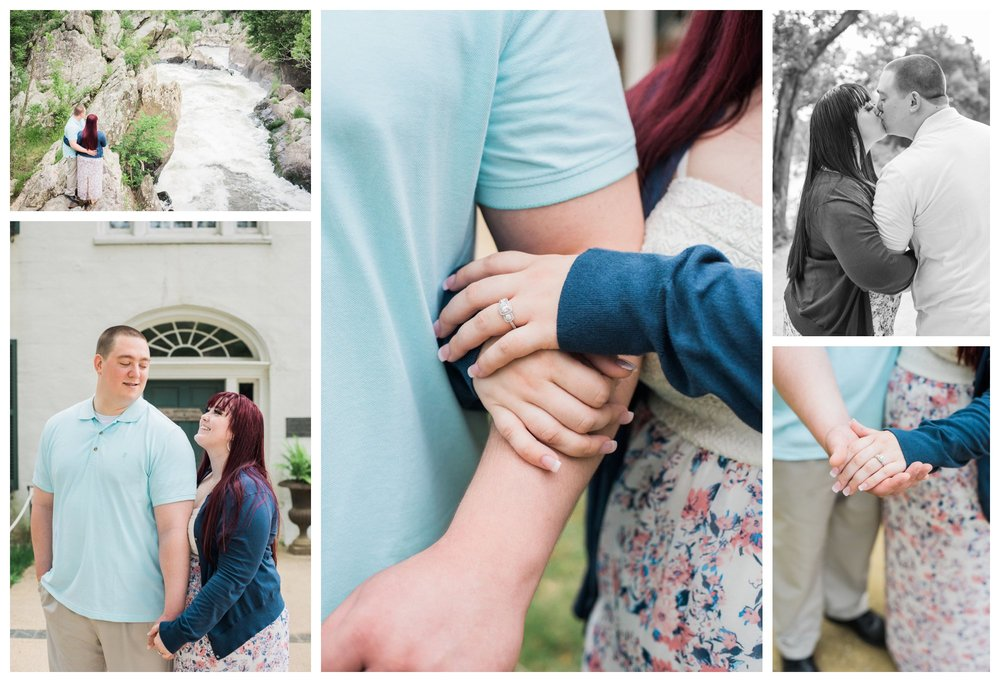 Great Falls engagement session by fine art wedding photographer Lissa Ryan Photography