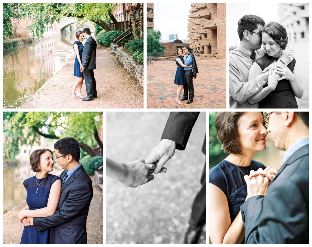 Georgetown canal engagement session in Washington DC by fine art wedding photographer Lissa Ryan Photography