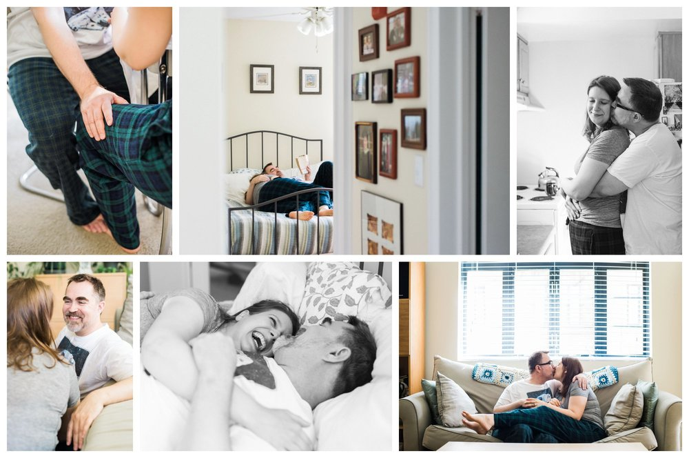 LOOM in-home intimate engagement session by fine art Washington DC wedding photographer Lissa Ryan Photography