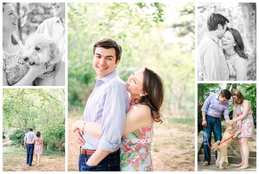 spring engagement session in Georgetown Washington DC by fine art wedding photographer Lissa Ryan Photography