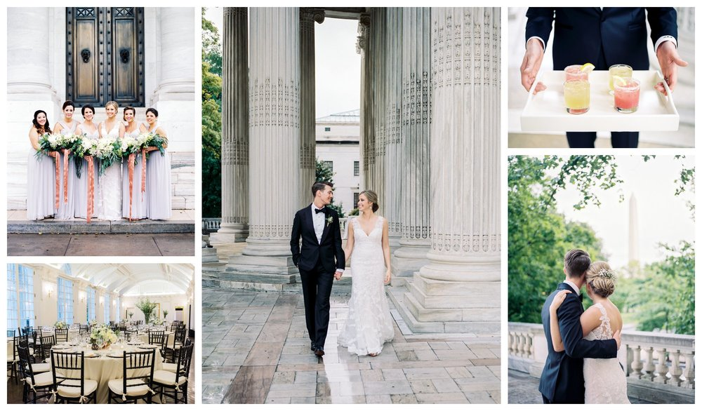 copper and green wedding at the DAR by washington dc fine art wedding photographer lissa ryan photography