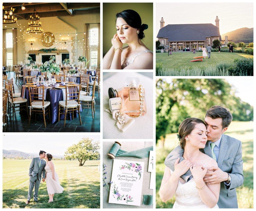 purple fairytale wedding at early mountain vineyards in charlottesville virginia by fine art wedding photographer Lissa Ryan Photography