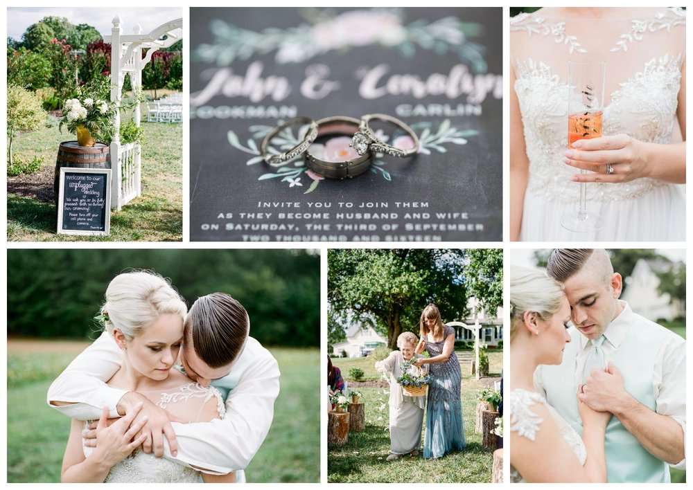 summer garden wedding at Flora Corner Farm by fine art wedding photographer Lissa Ryan Photography