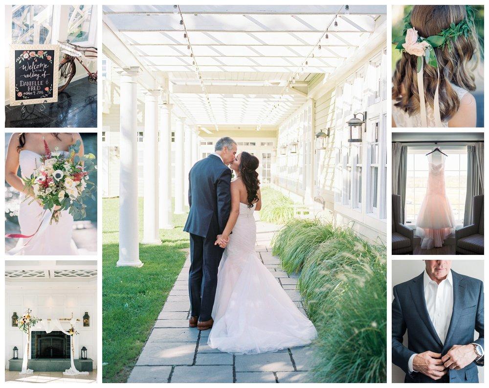 blush and maroon fall wedding at Chesapeake Bay Beach Club by fine art wedding photographer Lissa Ryan Photography
