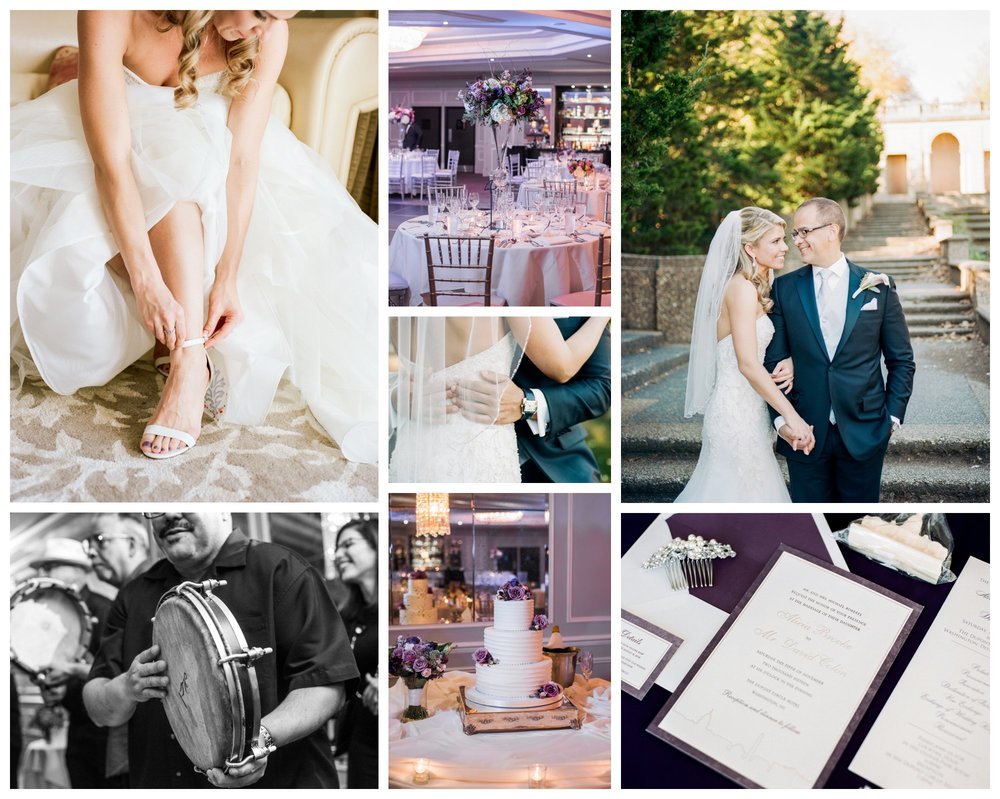 purple wedding at the Dupont Hotel in Washington, DC but fine art wedding photographer Lissa Ryan Photography