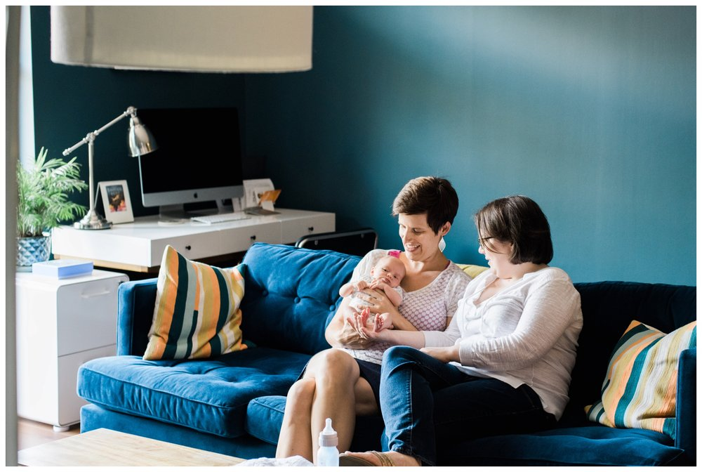 fine art film lifestyle newborn photographer in Washington, DC Lissa Ryan Photography