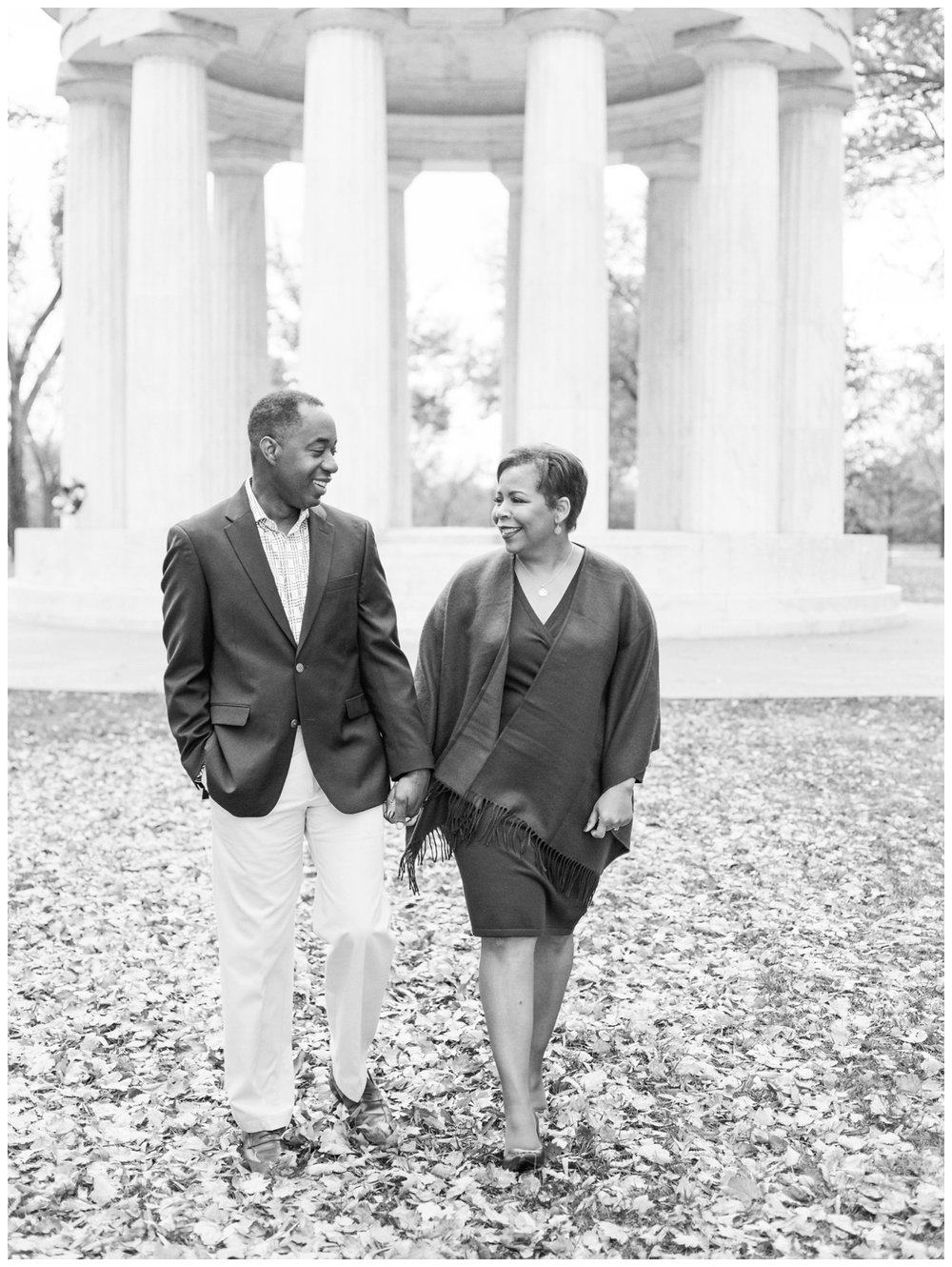 fall washington dc engagement session by fine art photographer Lissa Ryan Photography